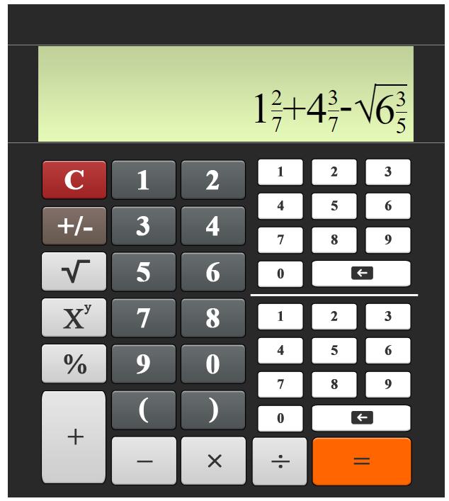 Калькулятор дробей